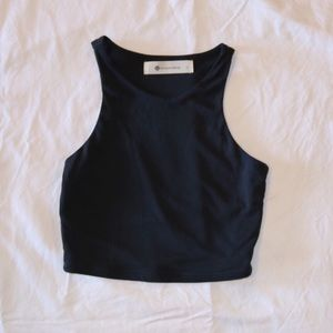 Tops - Boutique Crop Top - Black